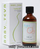 Belly oil - натуральное масло для профилактики растяжек в период беременности